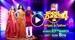 Super Dancer 4 sonyLive Show